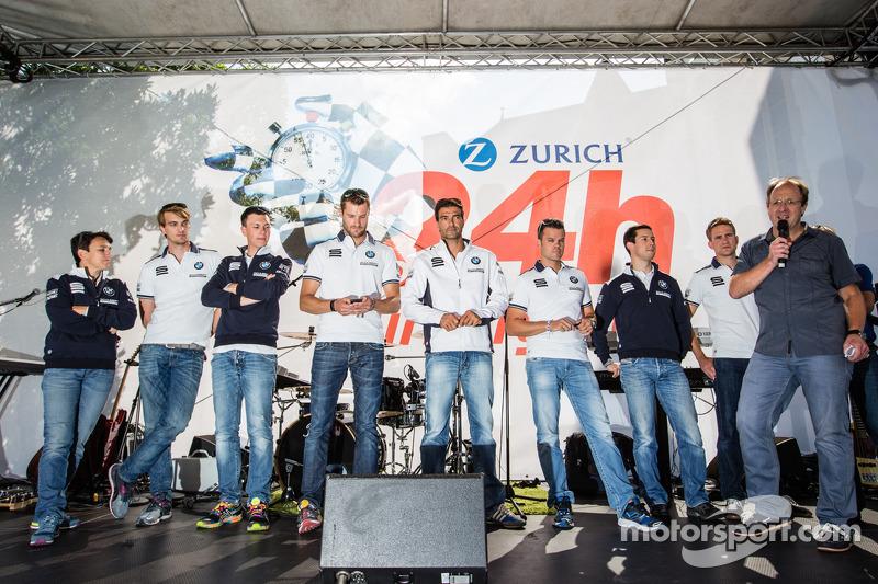Claudia Hürtgen, Jens Klingmann, Dominik Baumann, Martin Tomczyk, Lucas Luhr, Dirk Müller, Alexander Sims ve Dirk Werner