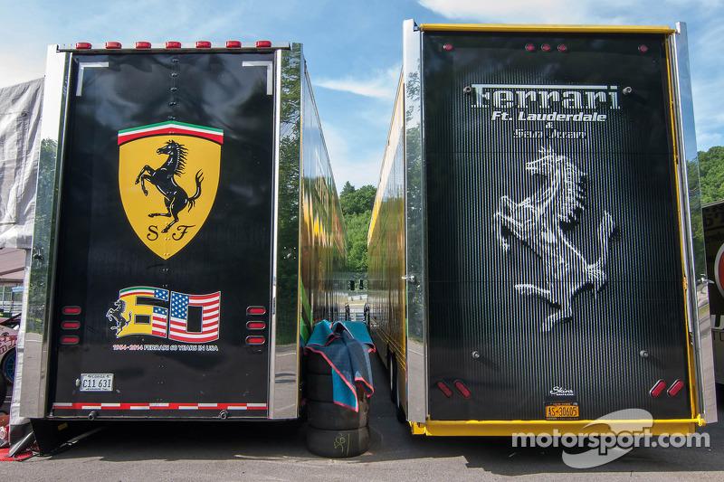 Ferrari haulers