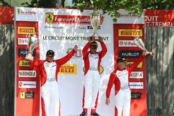 TP pódio: vencedor Ricardo Perez, segundo lugar Emmanuel Anassis, terceiro lugar Ryan Ockey