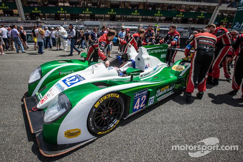 #42 卡特汉姆 Racing Zytek Z11SN - 日产