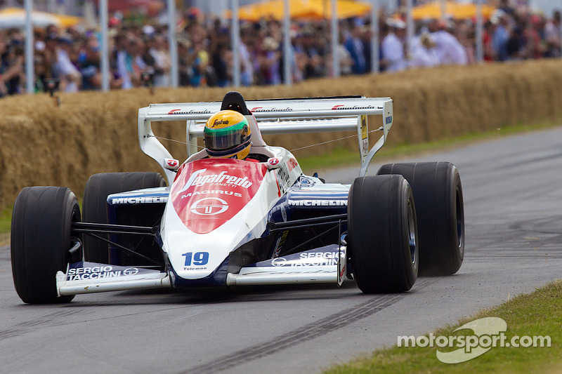 1984 Toleman-Hart TG184 - David Ashton