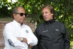 Klaus Ludwig et Frank Biela