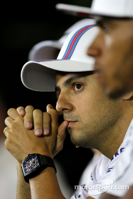 FIA-Pressekonferenz: Felipe Massa, Williams F1 Team