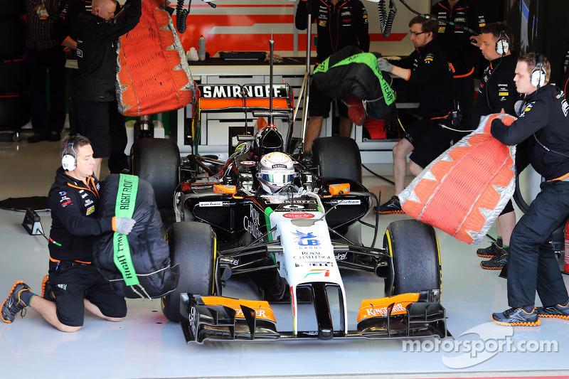 Daniel Juncadella, Sahara Force India F1 VJM07 Test ve Yedek Pilotu