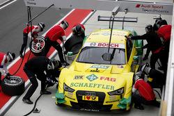Boxstopp, Mike Rockenfeller, Audi Sport Team Phoenix, Audi RS 5 DTM