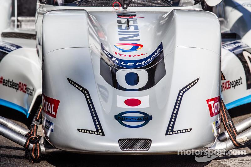#0 Nissan Motorsports Global Nissan Zeod RC: detalhe