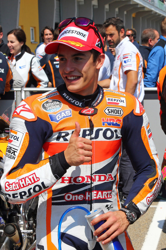 Pole position Marc Marquez, Repsol Honda Team