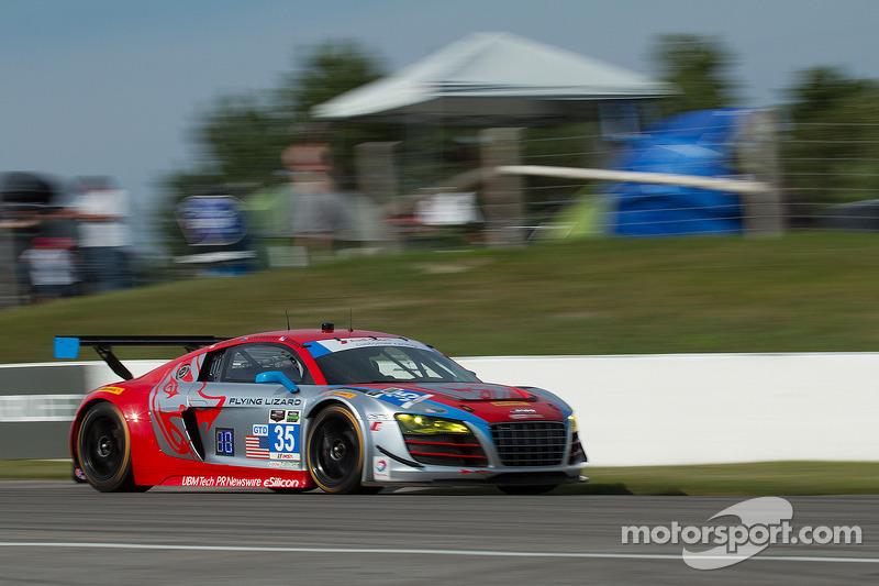 #35 Flying Lizard Motorsports Audi R8 LMS: Seth Neiman, Dion von Moltke , Spencer Pumpelly