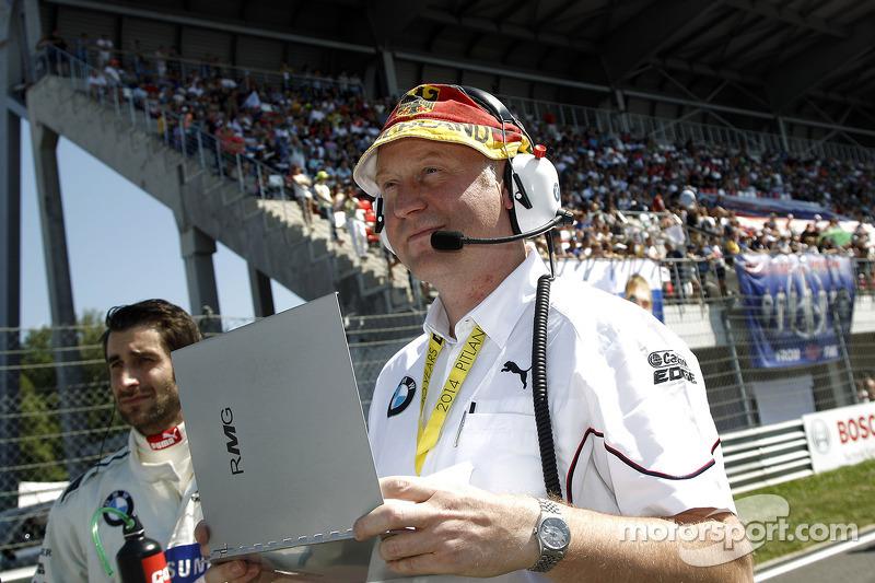 Componente della squadra di BMW Team RMG