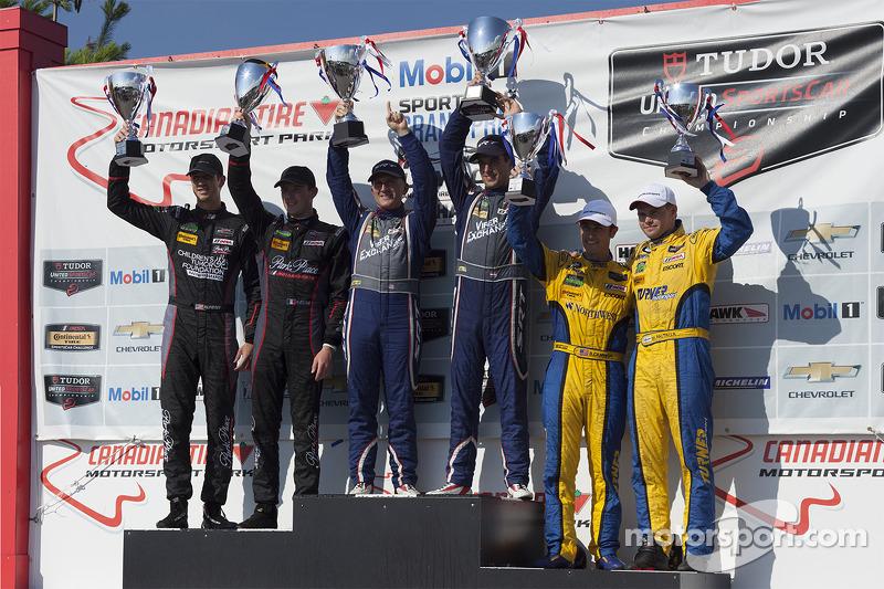#33 Riley Motorsports, #73 Park Place Motorsports, #94 Turner Motorsport