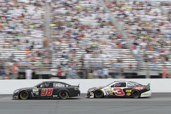 Josh Wise, Mike Curb Ford e Austin Dillon, Richard Childress Racing Chevrolet
