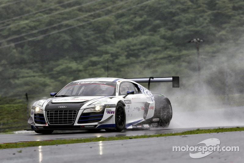 #7 绝对车队(中国) 奥迪 R8 LMS ultra GT3: 李勇德, 克里斯托弗·米斯