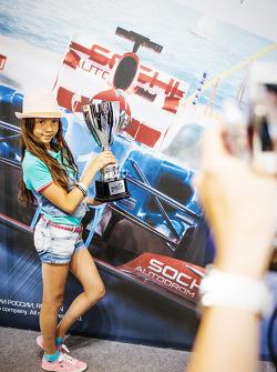 Sochi Autodrom display