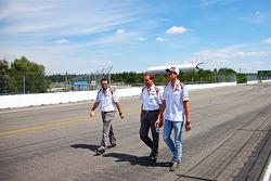Adrian Sutil, Sauber cammina per il circuito