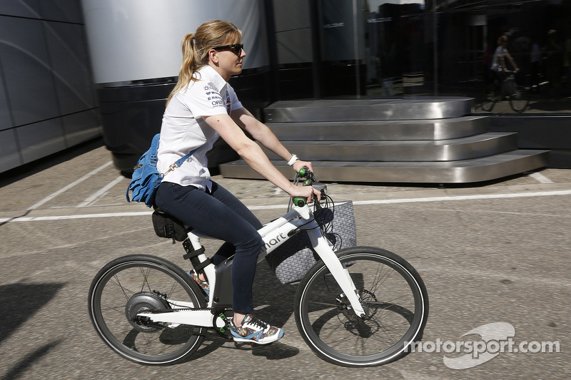 Susie Wolff, pilota collaudatrice Williams