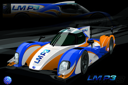 An artist rendering of the LM P3 class car