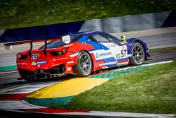 #57 SMP Racing Ferrari F458 Italia GT3: Boris Rotenberg, Mika Salo, Maurizio Mediani