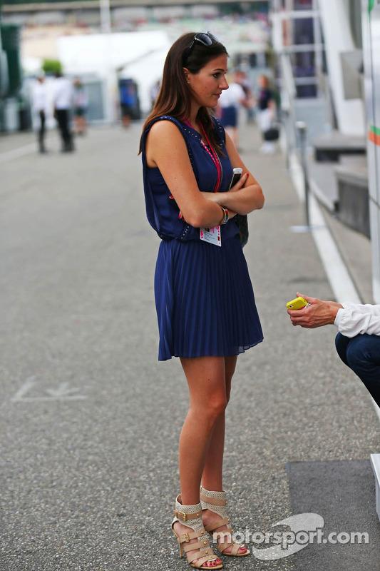 Laura Zinnel, namorada de Nico Hulkenberg, Sahara Force India F1
