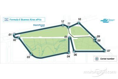 ePrix di Buenos Aires, la pista