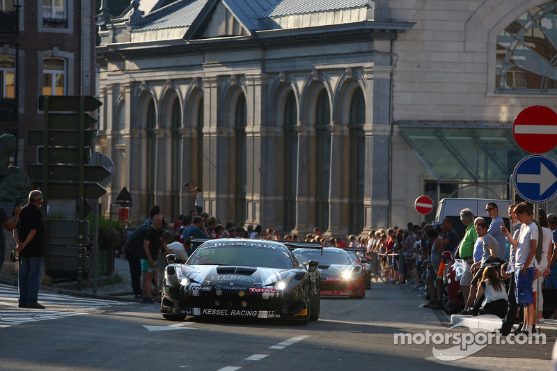 #111 Kessel Racing Ferrari 458 Italia: Stephen Earle, Freddy Kremer, Markus Mahy, Liam Talbot