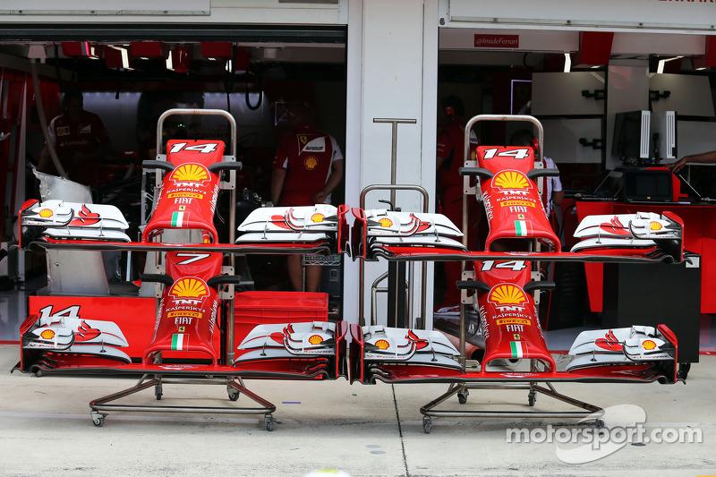 Ferrari F14-T nosecones