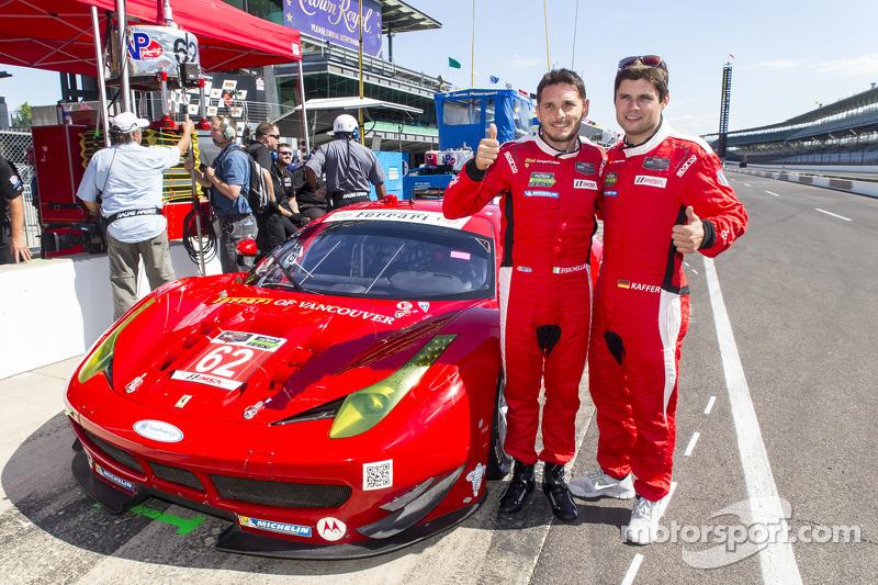 GTLM Pole sahipleri Giancarlo Fisichella ve Pierre Kaffer