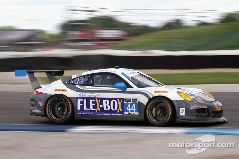 #44 Magnus Racing 保时捷 911 GT America: 约翰·波特, 安迪·拉利