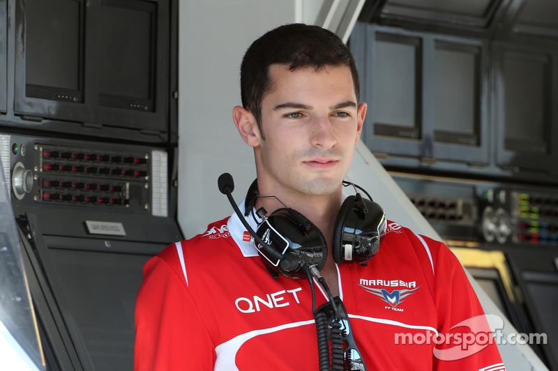 Alexander Rossi, Marussia F1 Team, Testfahrer