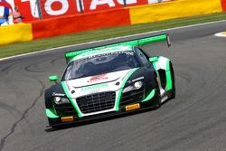 #22 Team Parker Racing Audi R8 LMS ultra: Ian Loggie, Leonid Machitski, Carl Rosenblad, Julian Westwood