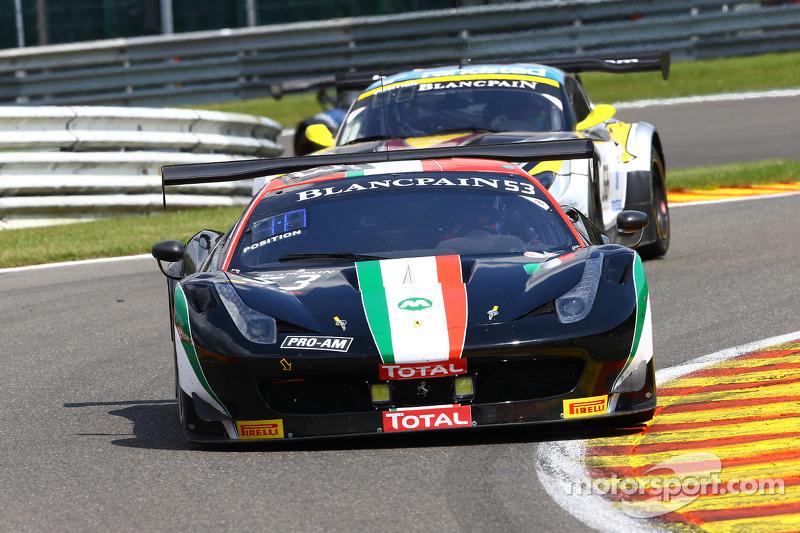 #53 AF Corse 法拉利 458 Italia: Niek Hommerson, Louis Machiels, 安德烈·贝托里尼, 马尔科·乔奇