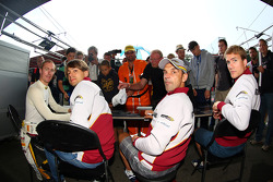 Maxime Martin, Augusto Farfus, Jorg Muller, Dirk Werner