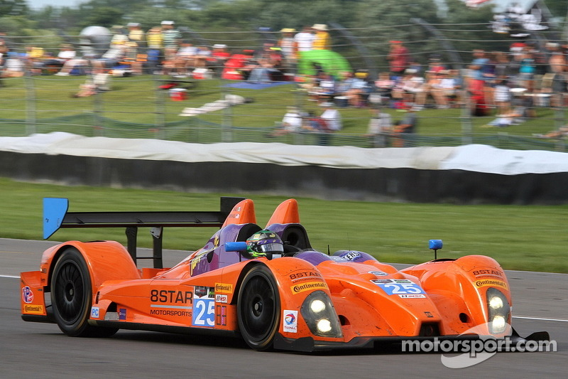 #25 8Star Motorsports Oreca FLM09 雪佛兰: 希恩·雷霍尔, 路易斯·迪亚斯