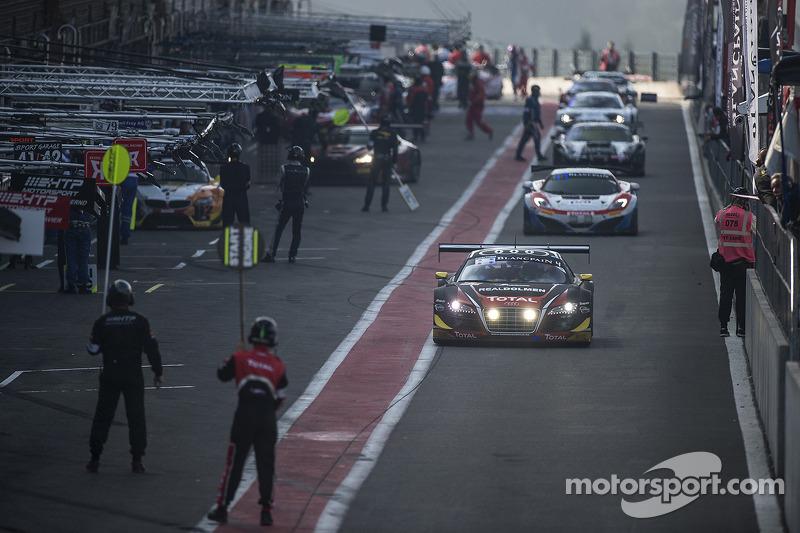 #4 Belgian Audi Club Team WRT Audi R8 LMS ultra: Jean-Luc Blanchemain, Fred Bouvy, Christian Kelders
