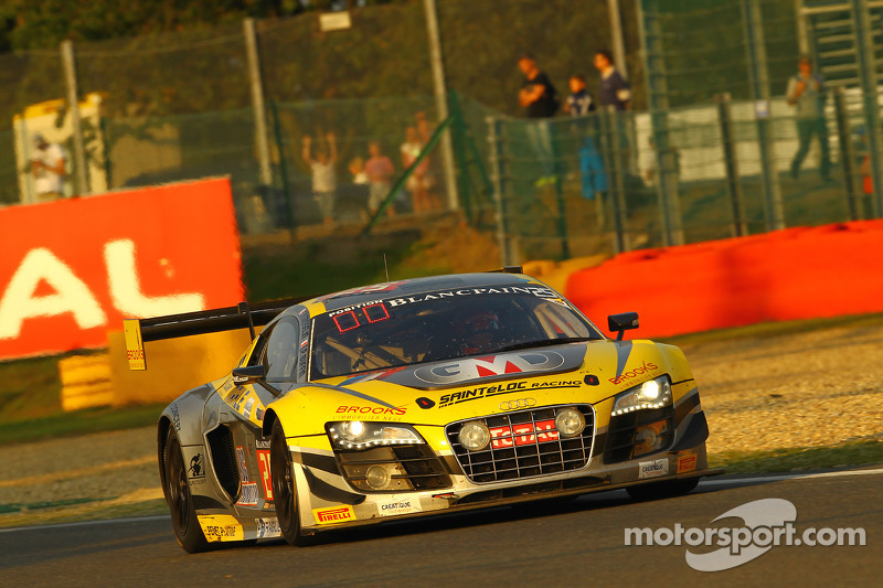 #25 Saintéloc Racing 奥迪 R8 LMS ultra: Jean-Paul Buffin, Claude-Yves Gosselin, Philippe Haezebrouck,