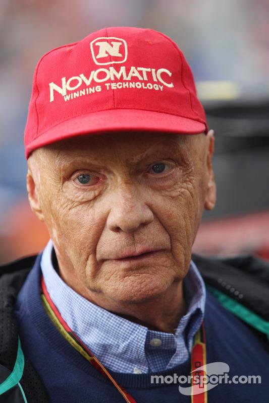 Niki Lauda, presidente não executivo da Mercedes