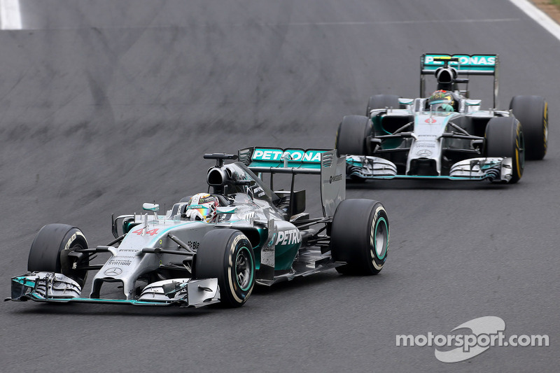 Mercedes F1 W05 Hybrid
