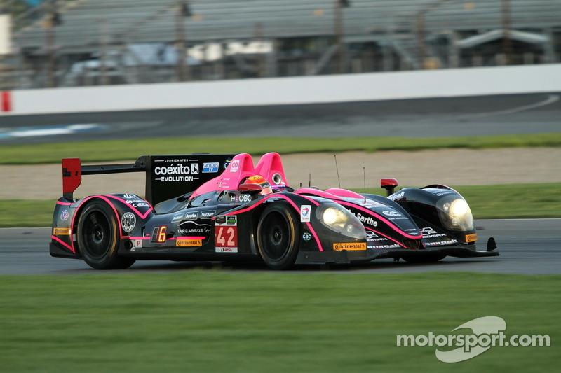 #42 OAK Racing 日产 摩根: 古斯塔沃·亚卡曼, 董荷斌
