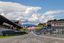 Rettilineo Pitlane al Red Bull Ring