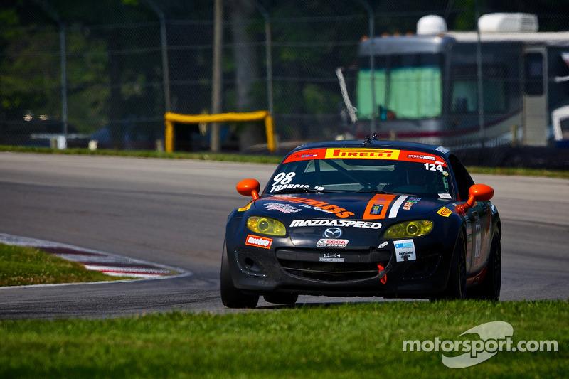 #98 Breathless Performance Mazda MX-5: Ernie Francis, Jr.