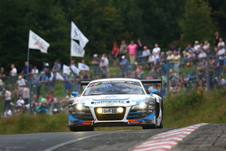 #5 Phoenix Racing Audi R8 LMS ultra: Marc Basseng, Frank Stippler, Roman Rusinov