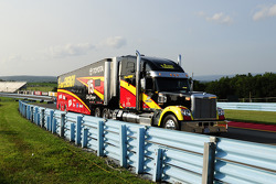 Hauler of Clint Bowyer, Michael Waltrip Racing Toyota