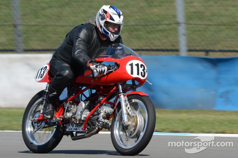 Graham Hemshall, Moto Guzi Gambalunga 498cc
