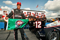Pole position Will Power, Team Penske Chevrolet