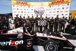 Vainqueur: Will Power, Team Penske Chevrolet
