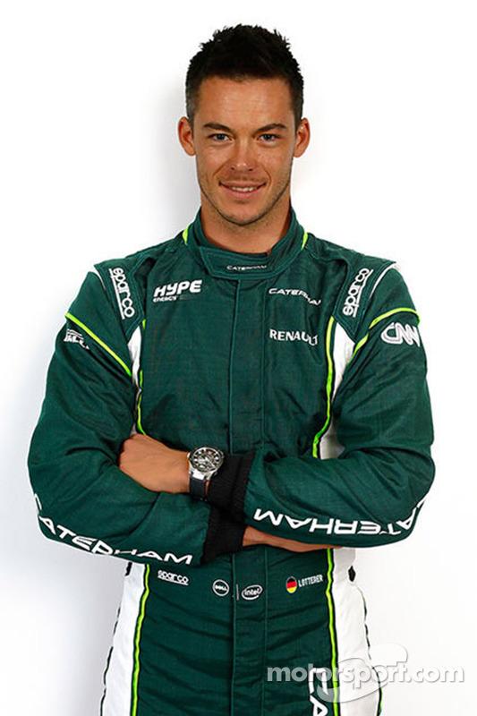 Andre Lotterer, Caterham F1 Team