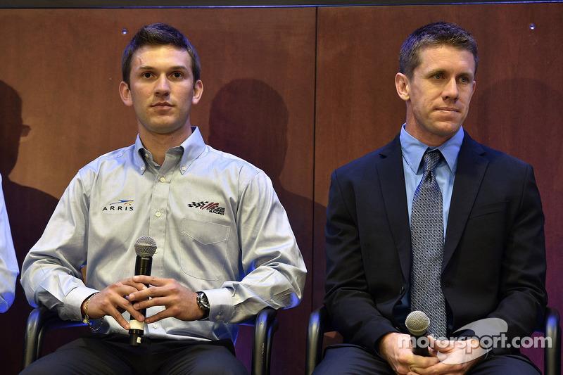 Carl Edwards ve Daniel Suarez JGR duyurusu