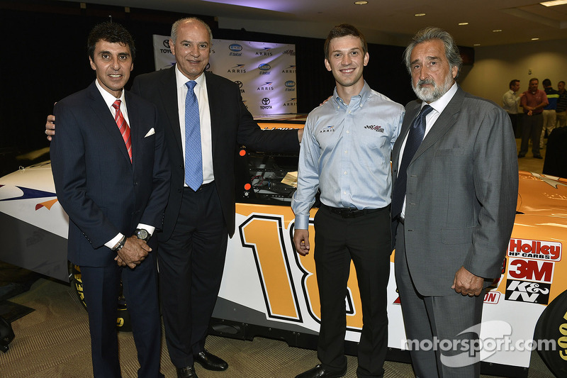 Daniel Suarez Nationwide araç tanıtımı