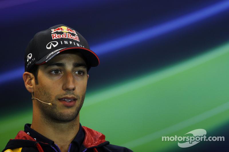 Daniel Ricciardo, Red Bull Racing FIA Basın Konferansı'nda