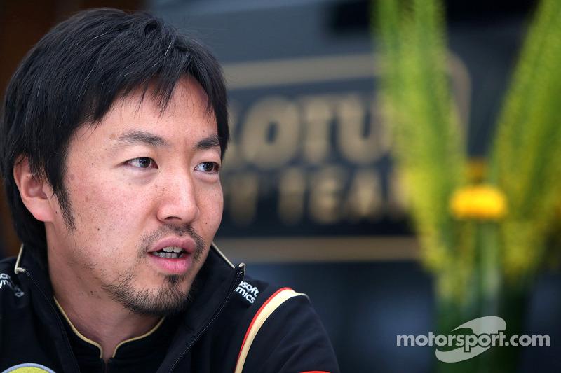 Ayao Komatsu, Renningenieur, Lotus F1 Team
