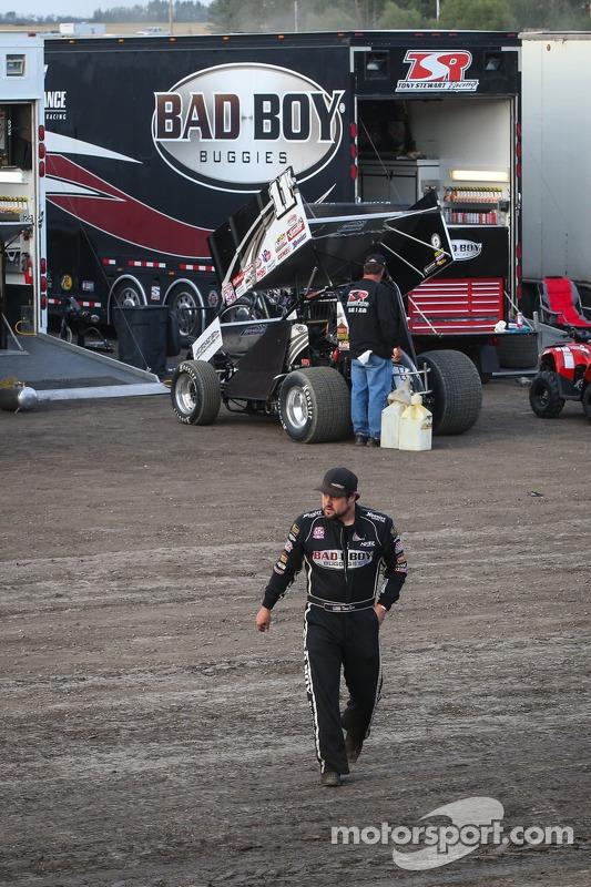 Kraig Kinser, Tony Stewart Racing
